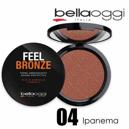 Feel bronze terra mat ipanema