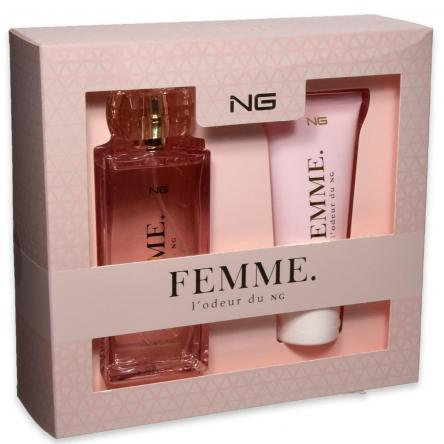 Ng femme l'odeur du ng edp 100 ml + shower gel 100 ml