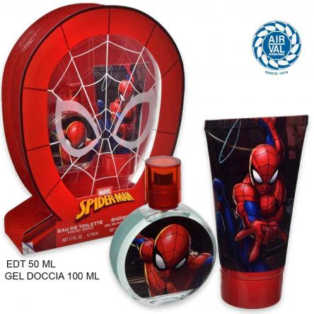 Spiderman set edt 50 ml + gel doccia 100 ml