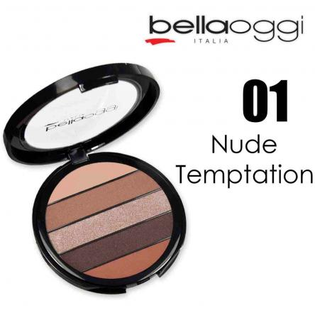 M-use palette mat satin extra shine nude temptation