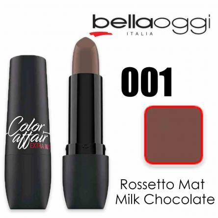 Color affair extra mat rossetto mat milk chocolate