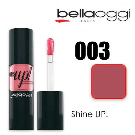 Lips up! gloss volume con acido ialuronico shine up!