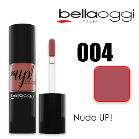 Lips up! gloss volume con acido ialuronico nude up!