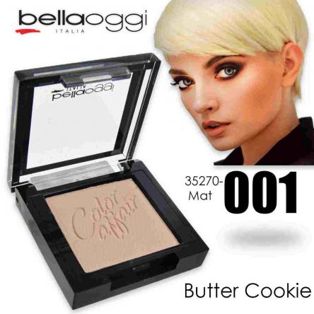 Color affair eyeshadow mat butter cookie
