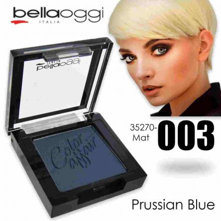 Color affair eyeshadow mat prussian blue