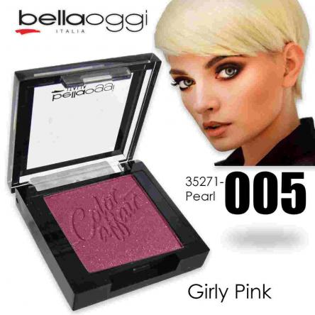 Color affair eyeshadow pearl & ombretto shine girly pink