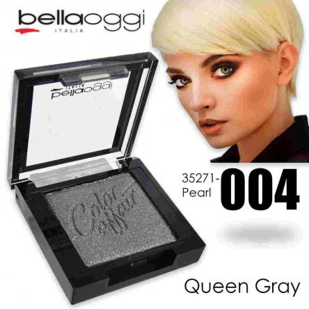 Color affair eyeshadow pearl & ombretto shine queen grey