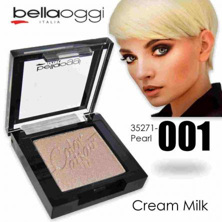 Color affair eyeshadow pearl & ombretto shine cream milk