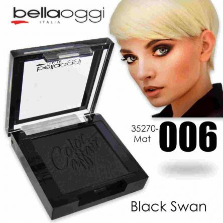 Color affair eyeshadow mat black swan