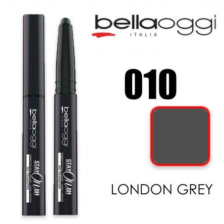 Stay on ombretto stylo tenuta  8h no transfer mat london grey