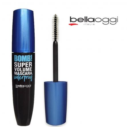 Bomb!super volume wp tenuta 24h waterproof black