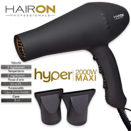 Phon hyper rubber black hairone