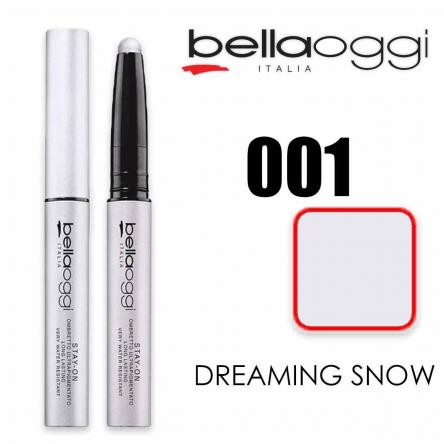 Stay on ombretto 8h ultrapigmentato dreaming snow