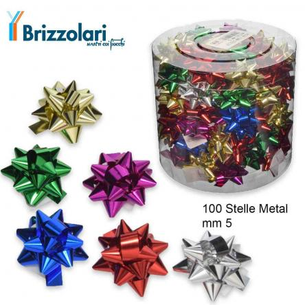 100 stelle metal mm5 col. 00 assortite
