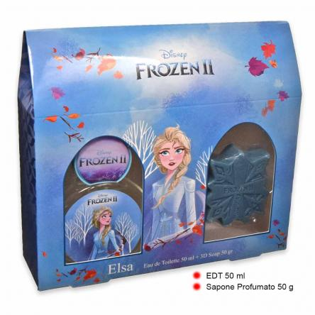 Elsa 2 pb house set edt 50 ml + 3d soap 55gr