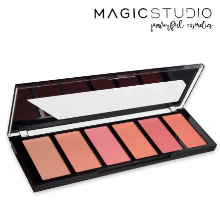 Magic studio blush palette bright colors