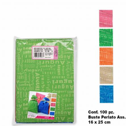 Buste colors assort. 100 pz. 16 x 25