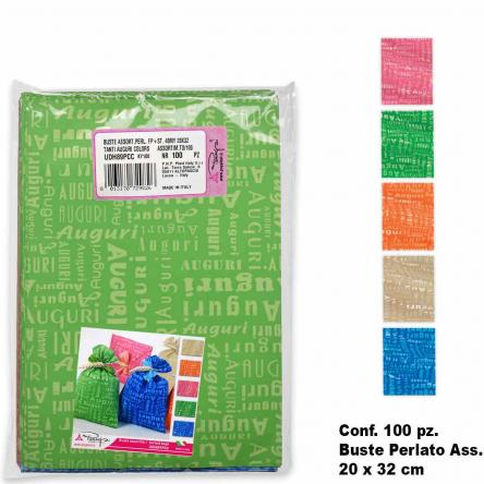 Buste colors assort. 100 pz. 20 x 32