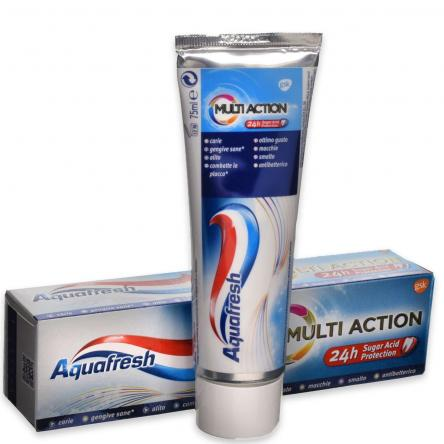 Aquafresh dentifricio multi action 75 ml