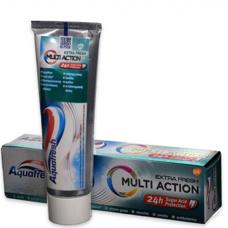 Aquafresh dentifricio multi action extra fresh 75 ml