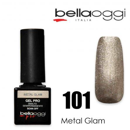 Bella oggi gel pro semipermanente 101 metal glam