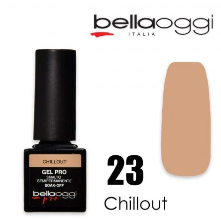 Bella oggi gel pro semipermanente 23 chillout