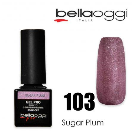 Bella oggi gel pro semipermanente 103 sugar plum