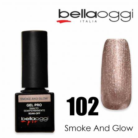 Bella oggi gel pro semipermanente 102 smoke and glow