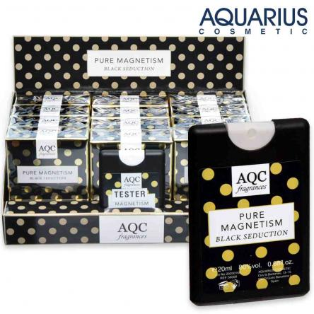 Aqc fragrances pocket 20 ml pure magnetism black seduction