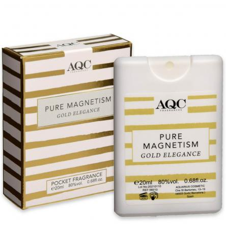 Aqc fragrances pocket 20 ml pure magnetism gold elegance