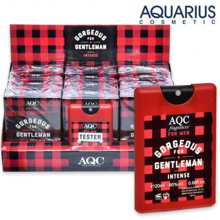 Aqc fragrances pocket 20 ml gorgeous gentleman intense