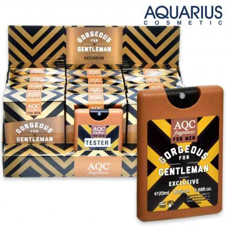 Aqc fragrances pocket 20 ml gorgeous gentleman exclusive