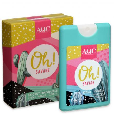 Aqc fragrances pocket 20 ml oh savage