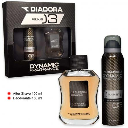 Diadora dynamic n° 03 after shave 100 ml + deo 150 ml
