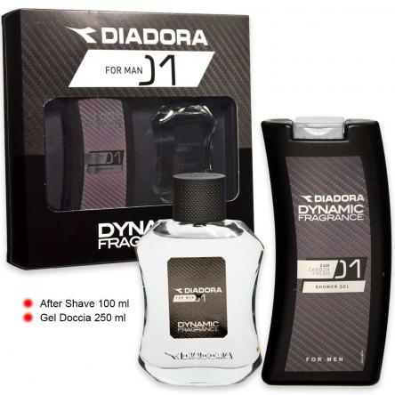 Diadora dynamic n° 01 after shave 100 ml + shower gel 250 ml