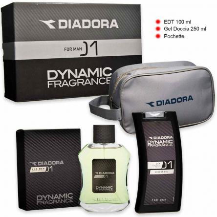 Diadora dynamic n° 01 edt 100 ml + shower gel 250 ml + beauty