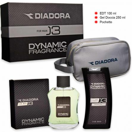 Diadora dynamic n° 03 edt 100 ml + shower gel 250 ml + beauty