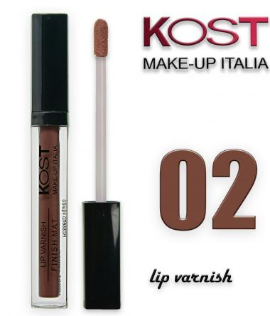 Lip varnish kost 02
