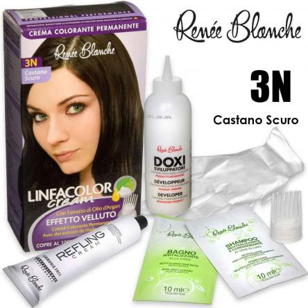 Linfacolor cream 3n castano scuro