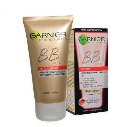 Garnier skin nat. bb antirughe all in one 50 ml medio-chiara
