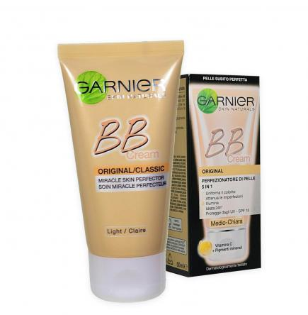 Garnier skin nat. bb crema idratante all in one 50 ml medio chiara