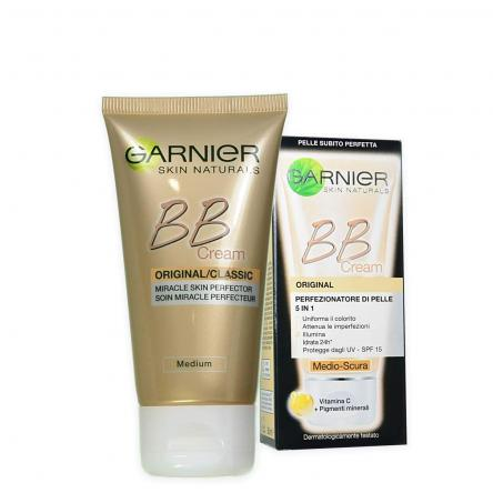 Garnier skin nat. bb crema idratante all in one 50 ml medio scura