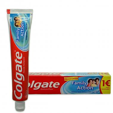 Colgate dent. family action  75 ml